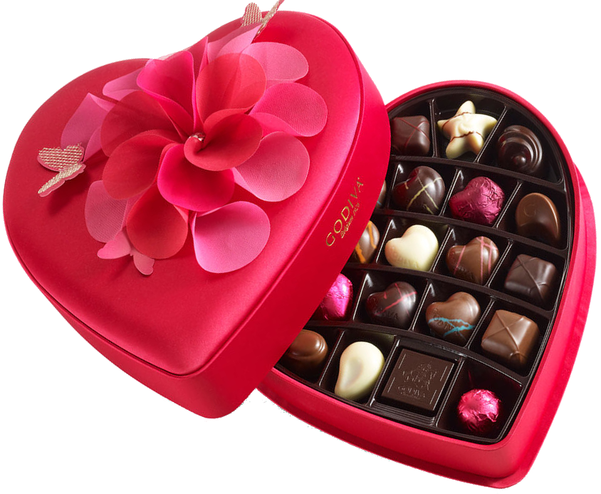 Chocolates boxes are perfect gifts for expressing your love on Qixi Festival