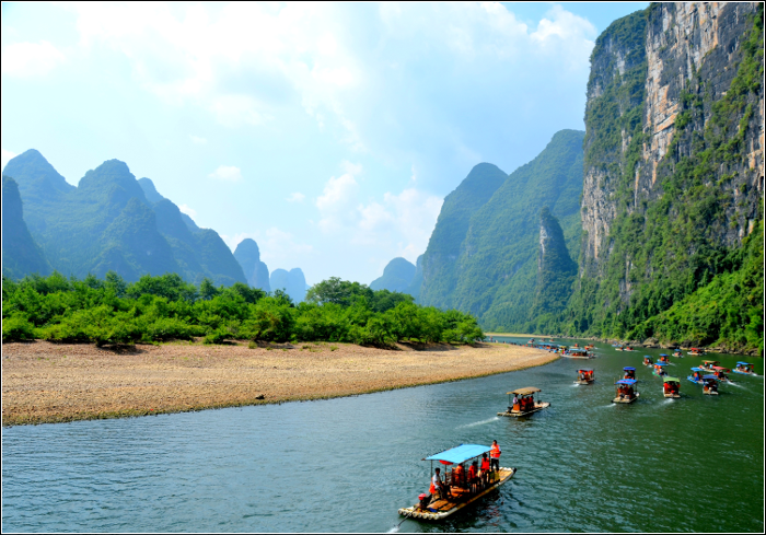 Qixi Festival - TOP 10 Must visit China - The Li River Guilin