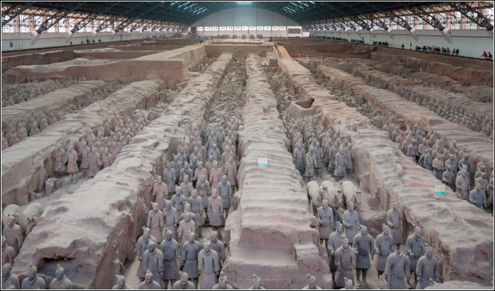 Qixi Festival - TOP 10 Must visit China - The Terracotta Army