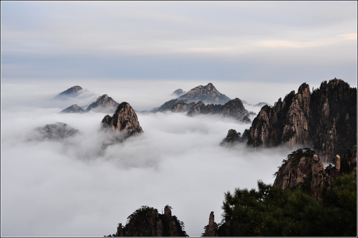 Qixi Festival - TOP 10 Must visit China - The Yellow Mountains Huangshan