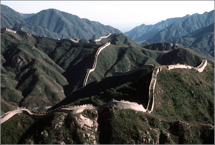 Qixi Festival - The Great Wall of China